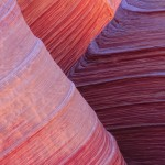 Stripped red rock feature nature wallpaper