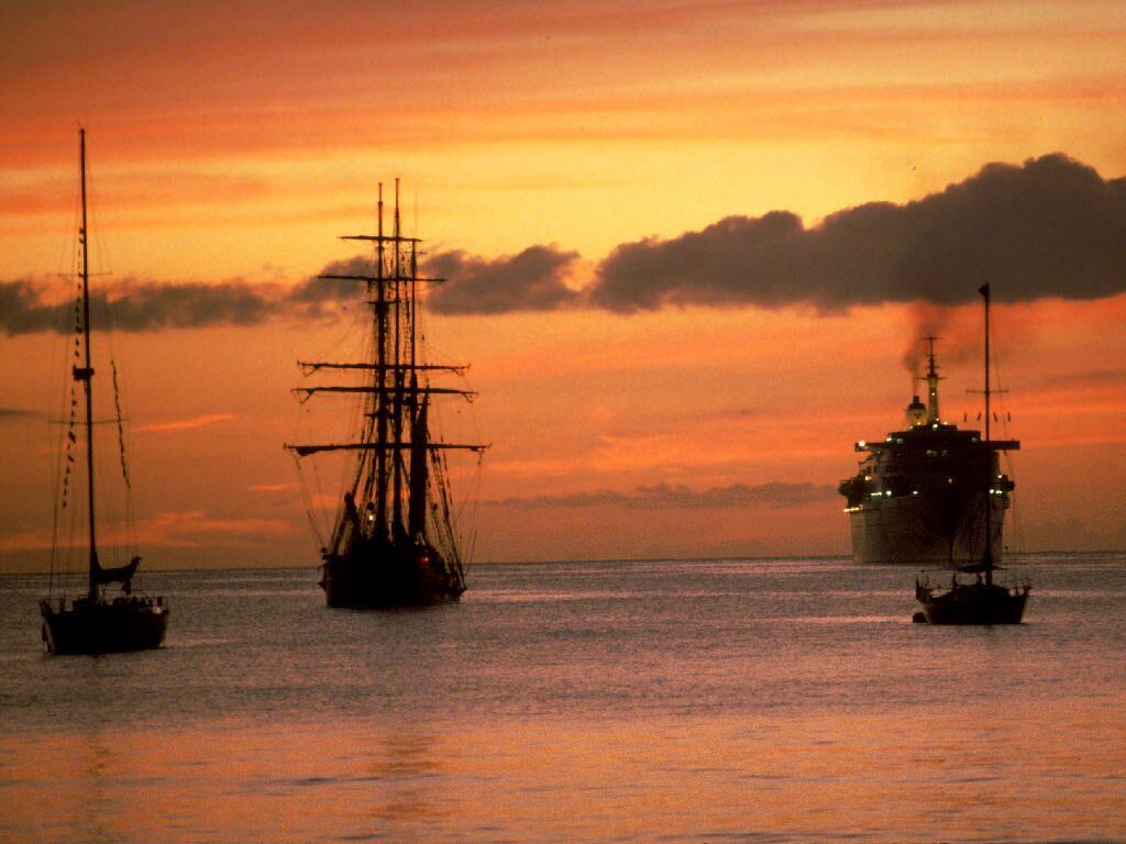 Sailing Across Time