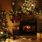 Christmas at Home Wallpaper