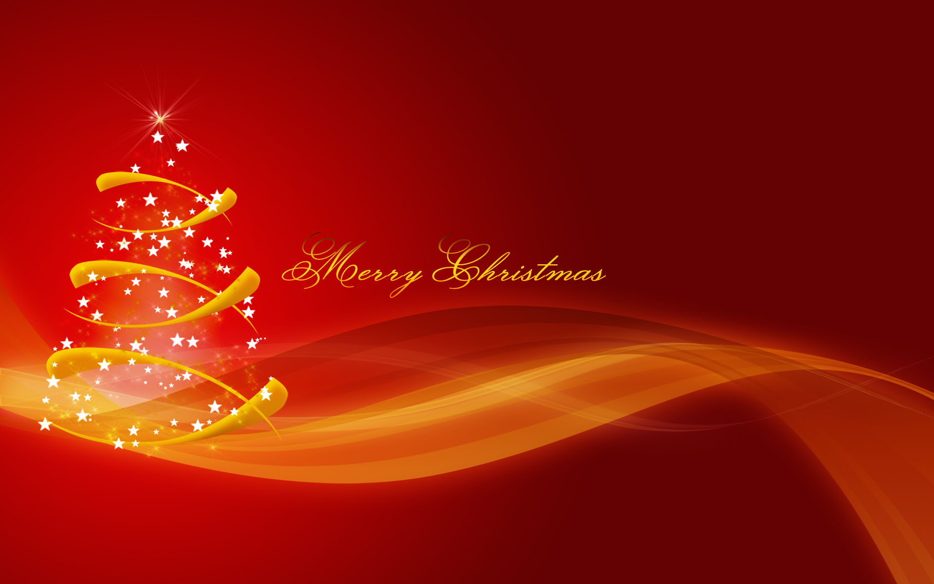 Simple Merry Christmas Wallpaper