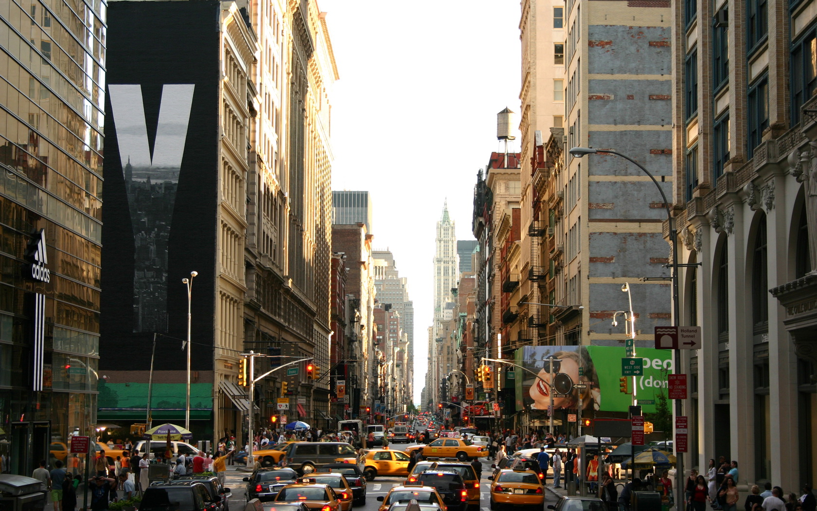 Hustle and Bustle of New York City