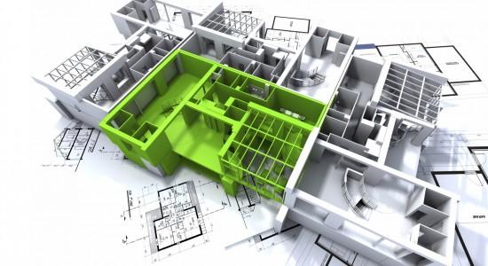 3D Architecture HD Wallpaper