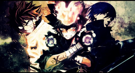 Bunch of Anime Characters HD Wallpaper