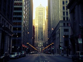 HD Streets of Chicago Wallpaper