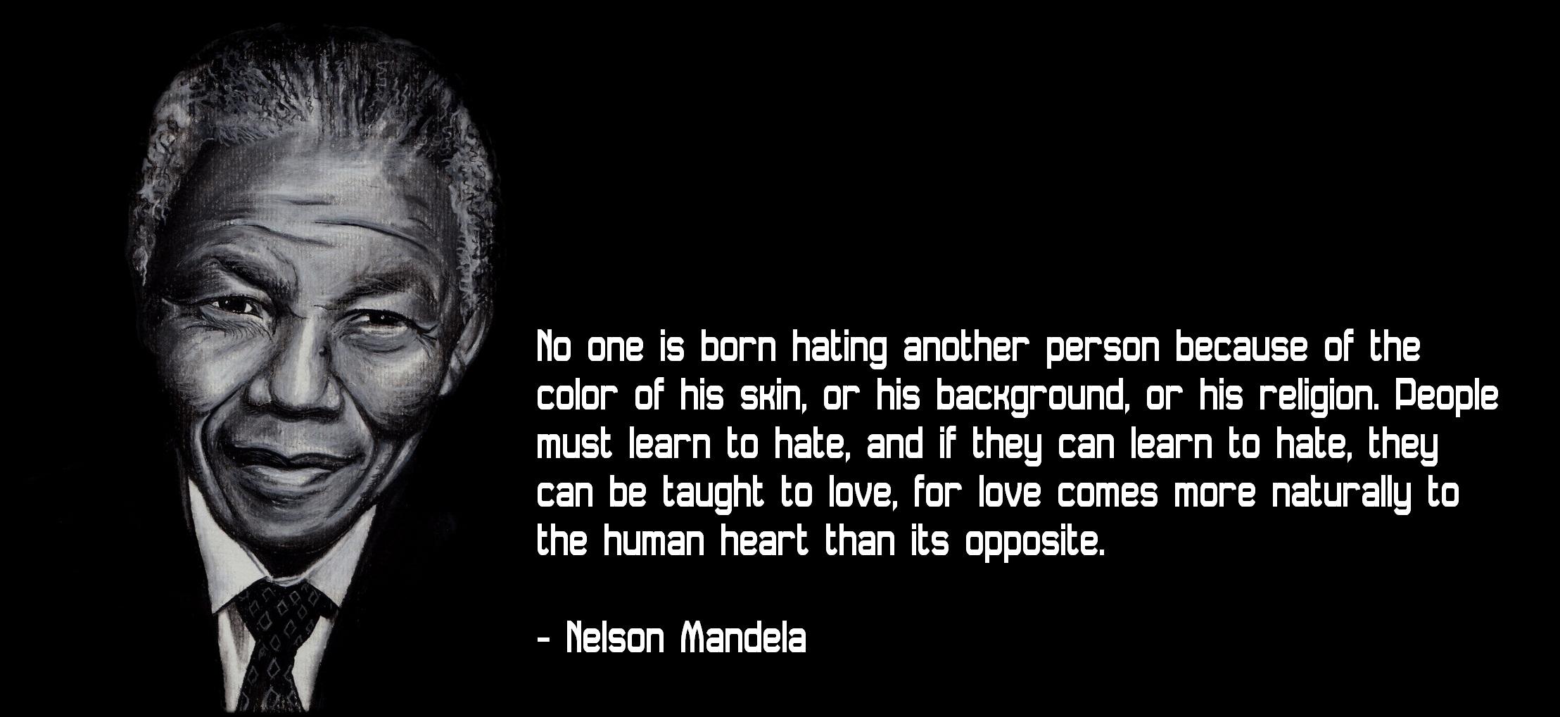 Nelson mandela legacy essay