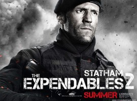 Jason Statham HD Expendables 2 Desktop Image