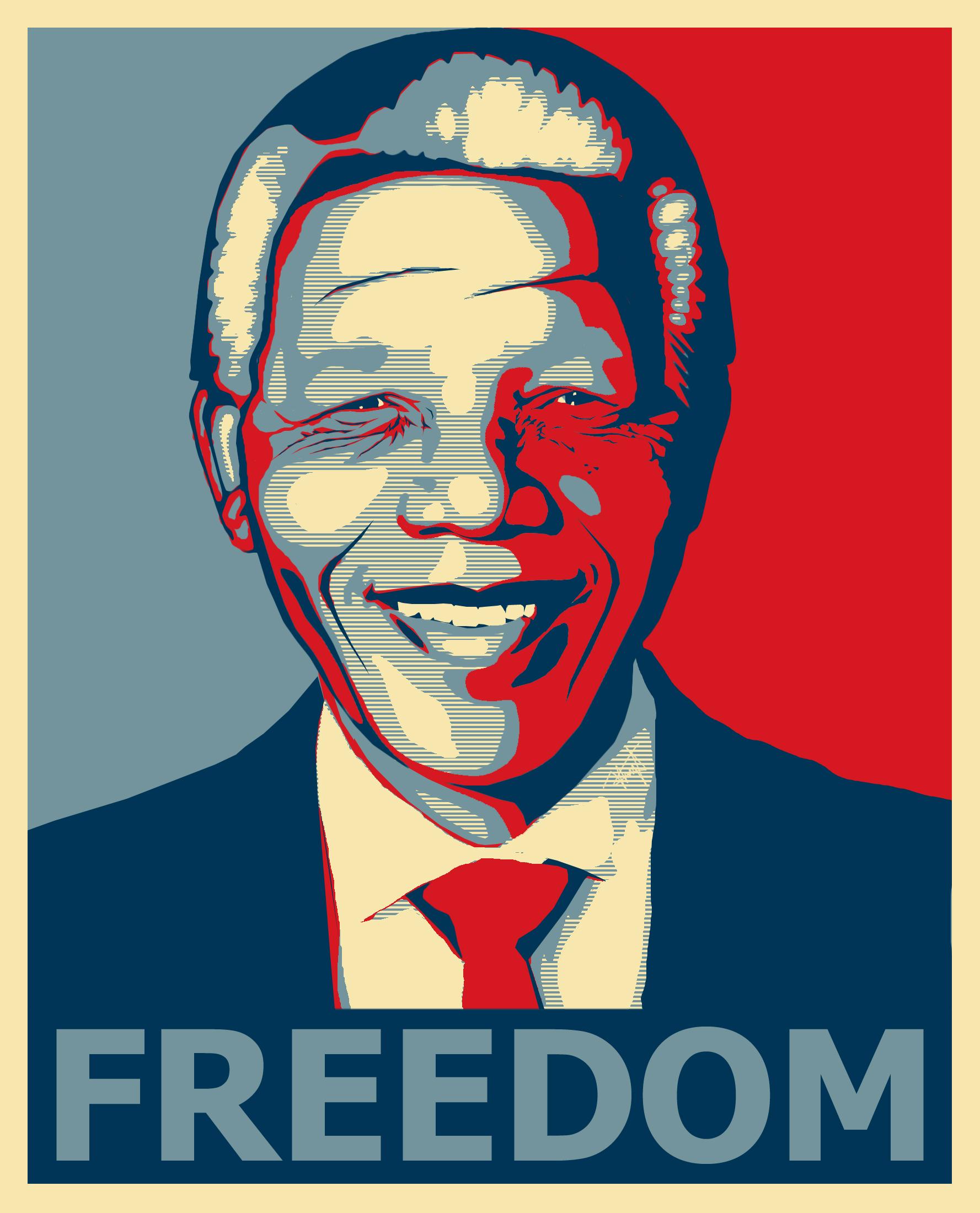 Nelson Mandela HD Poster Background