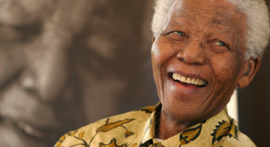 A Smile From Nelson Mandela