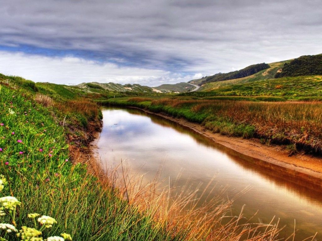 Beautiful Stream Background - HD Wallpapers