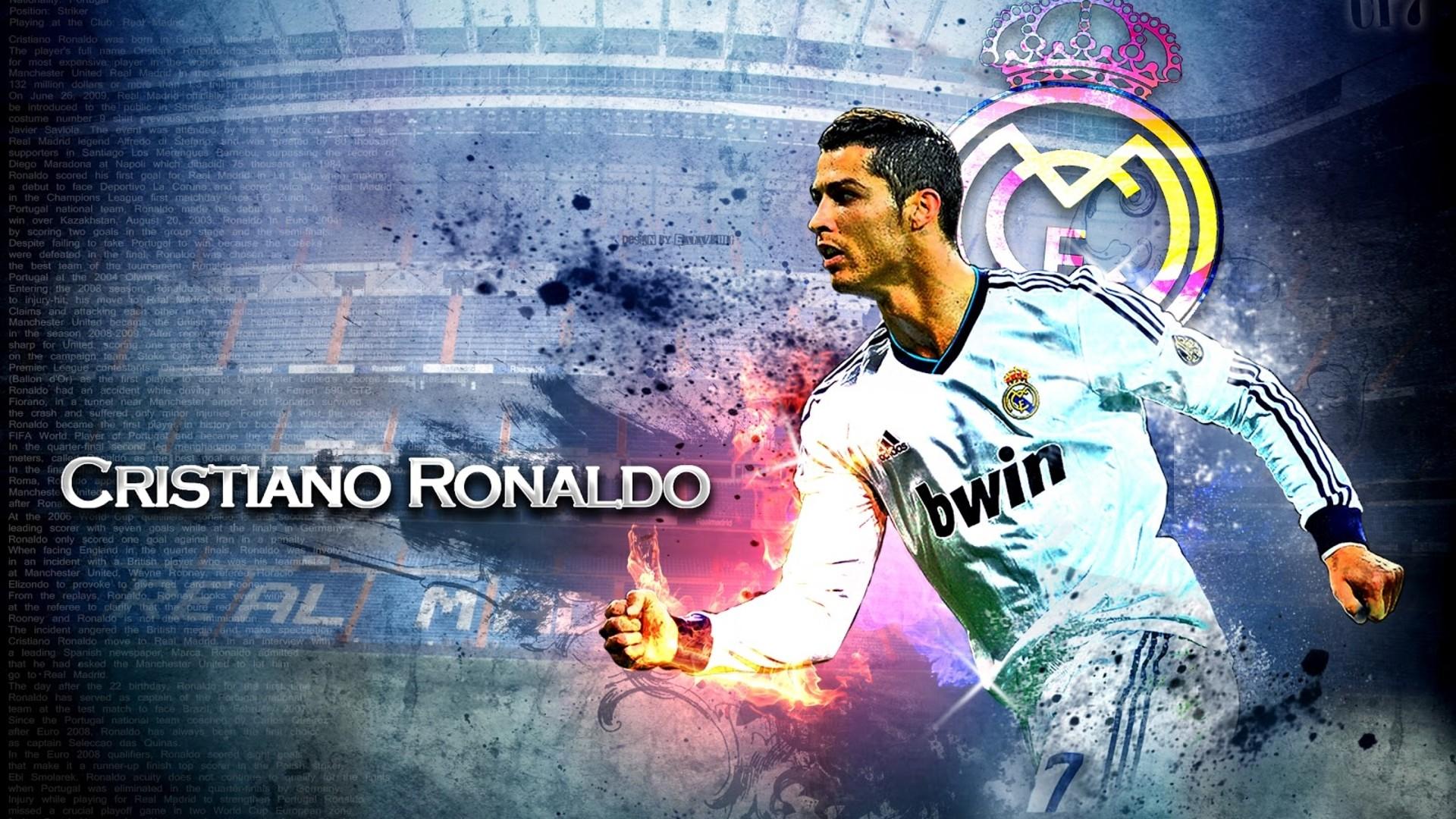 Football Cristiano Ronaldo Hd Wallpapers: Cristiano Ronaldo HD Wallpaper