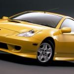 Golden Toyota Celica in Stunning HD