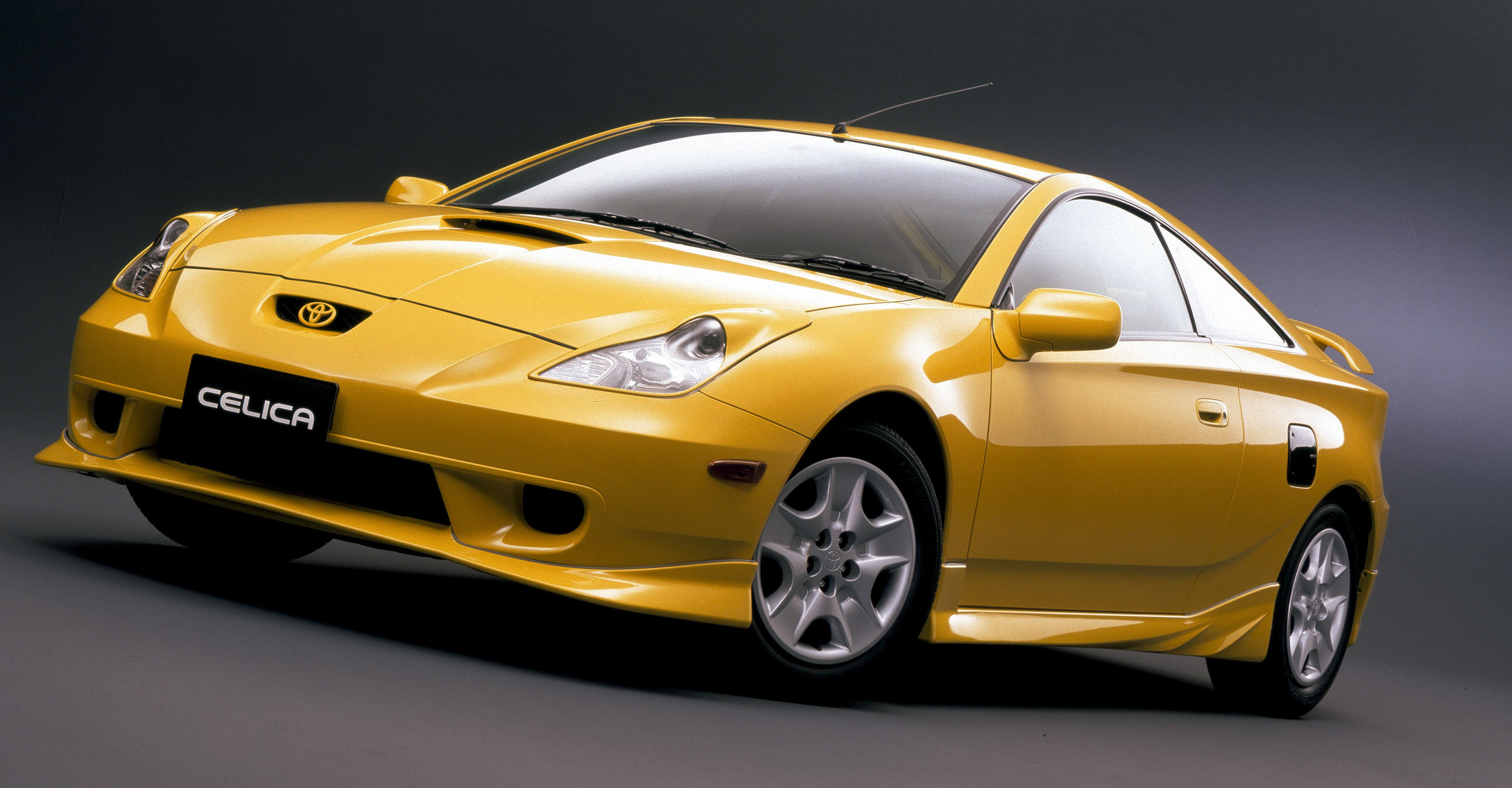 Golden Toyota Celica in Stunning HD