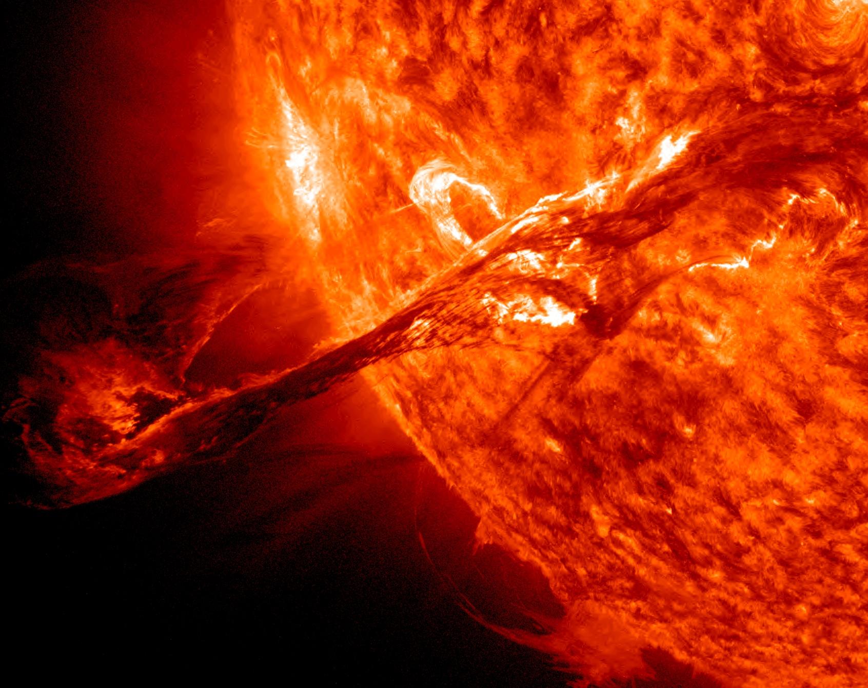 High Resolution HD Sun