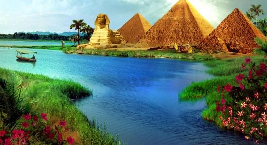 Stunning High Resolution Pyramid Image