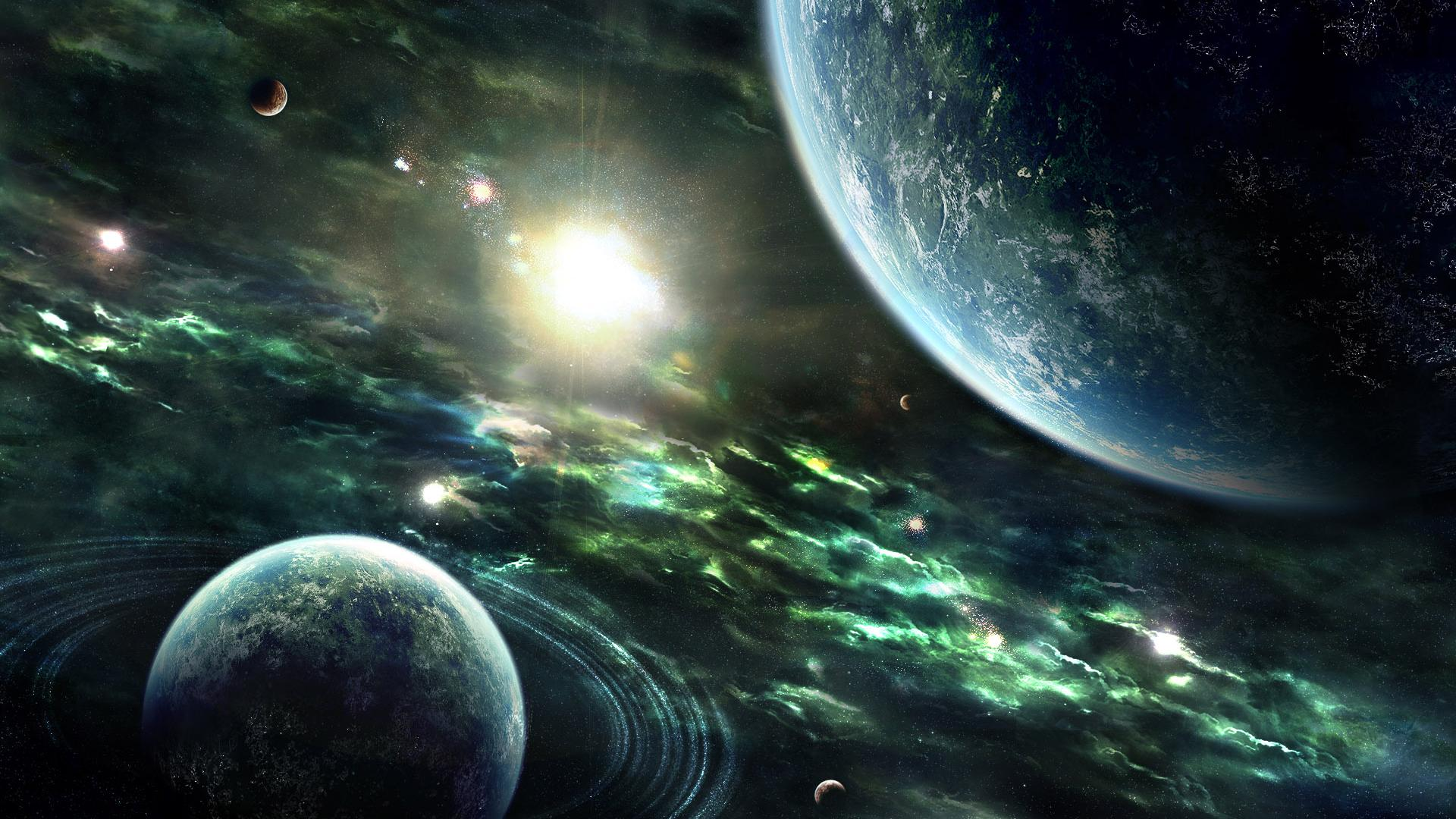 Wonderful HD Space Scene