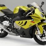 Yellow BMW RR S1000