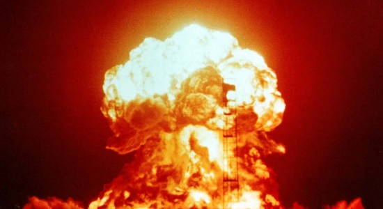 Nuclear explosion HD wallpaper