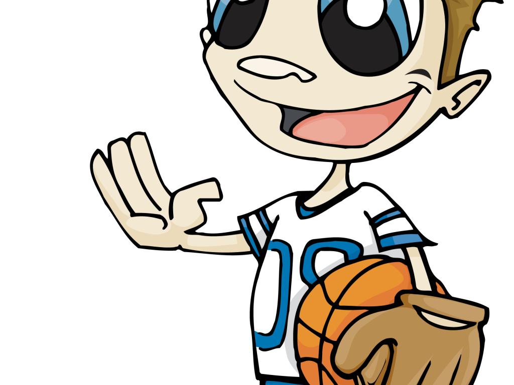 Sport Wallpaper Cartoon: Cartoon Sports Guy