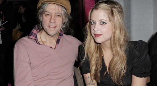 Peaches & Bob Geldof Wallpaper