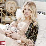 Peaches Geldof & her baby Wallpaper