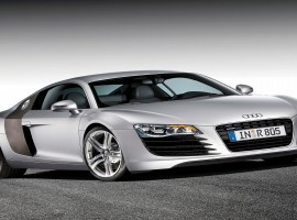 Sleek Sporty Audi Sports Car Wallpaper
