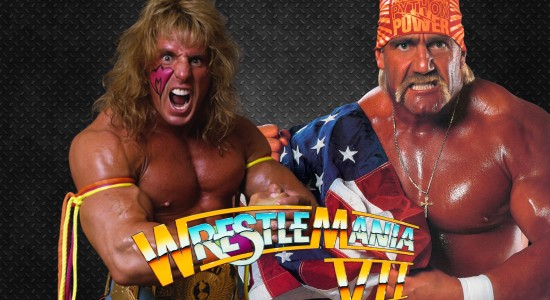 The Ultimate Warrior & Hulk Hogan WrestleMania 7