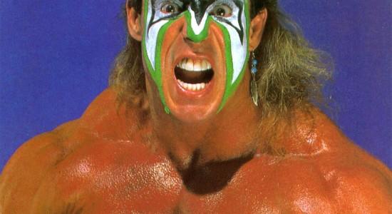 The Ultimate Warrior Tribute Desktop Background