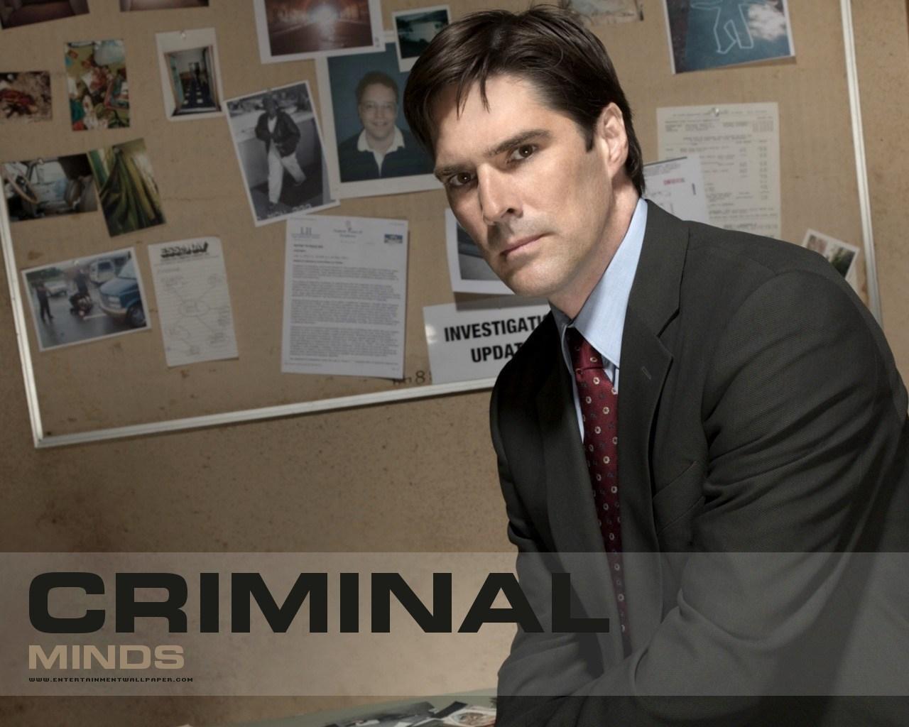 Aaron Hotchner Criminal Minds Wallpaper