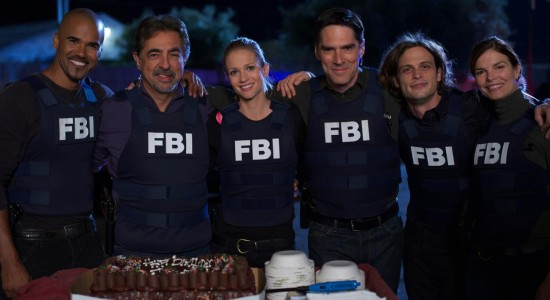 Cast Photo of Criminal Minds