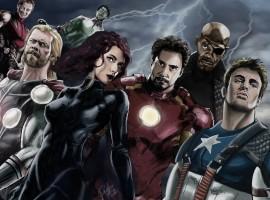Hand Drawn Avengers Wallpaper