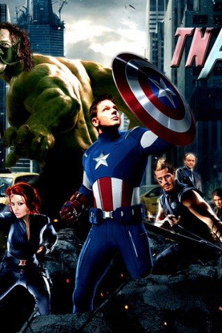 Marvel S High Resolution Avengers Background Hd Wallpapers