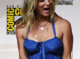 The Big Bang Theory Kaley Cuoco Wallpaper