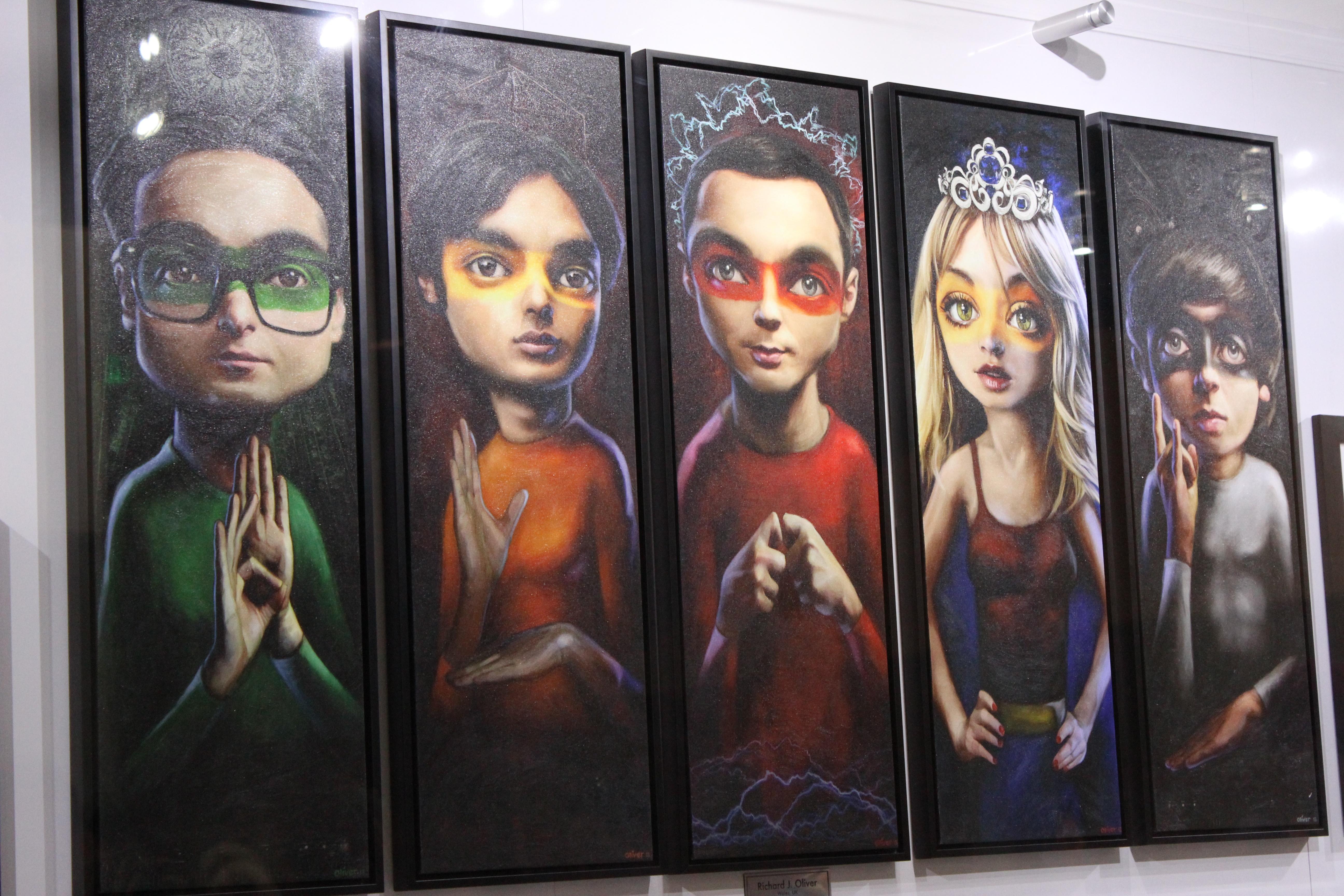 The Big Bang Theory Superhero Wallpaper