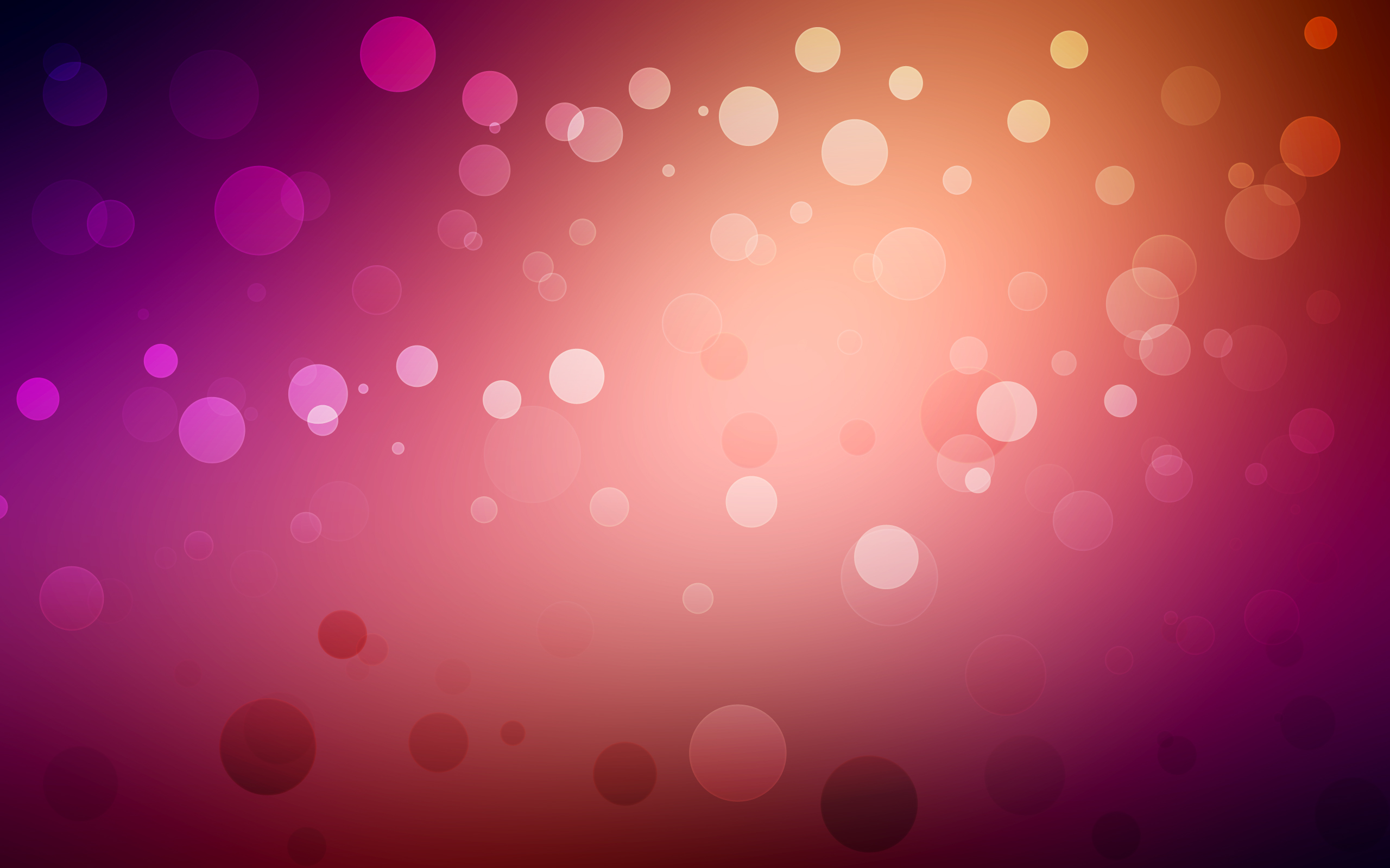 Abstract Purple and Red Dots