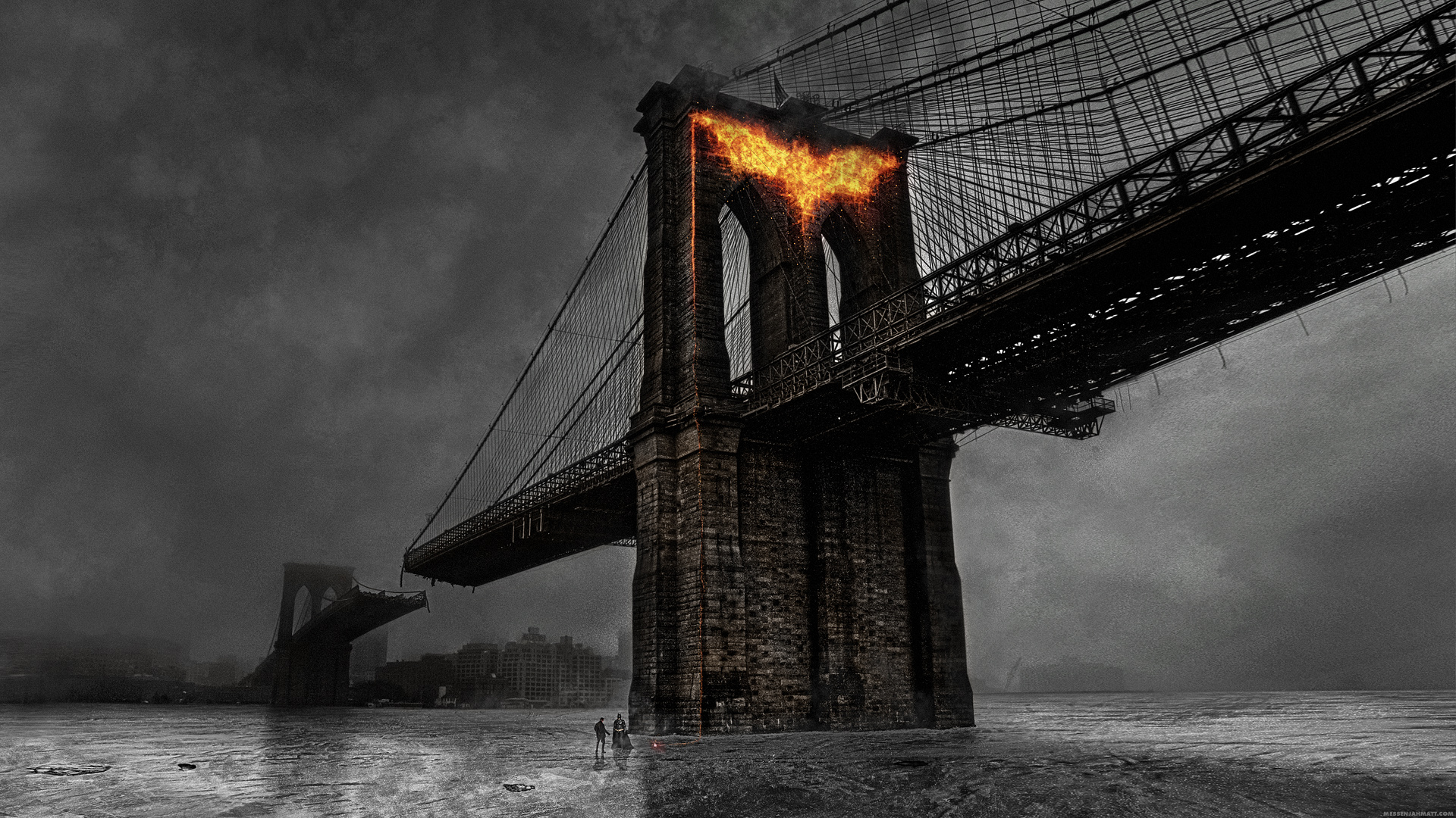 Bat Fire Bridge