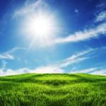 Beautiful Mountain Top Sunshine