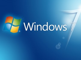 Big blue Windows wallpaper