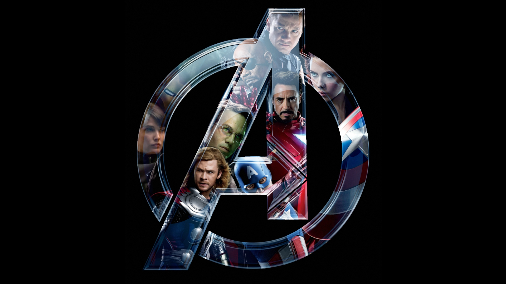 Faces of the Avengers