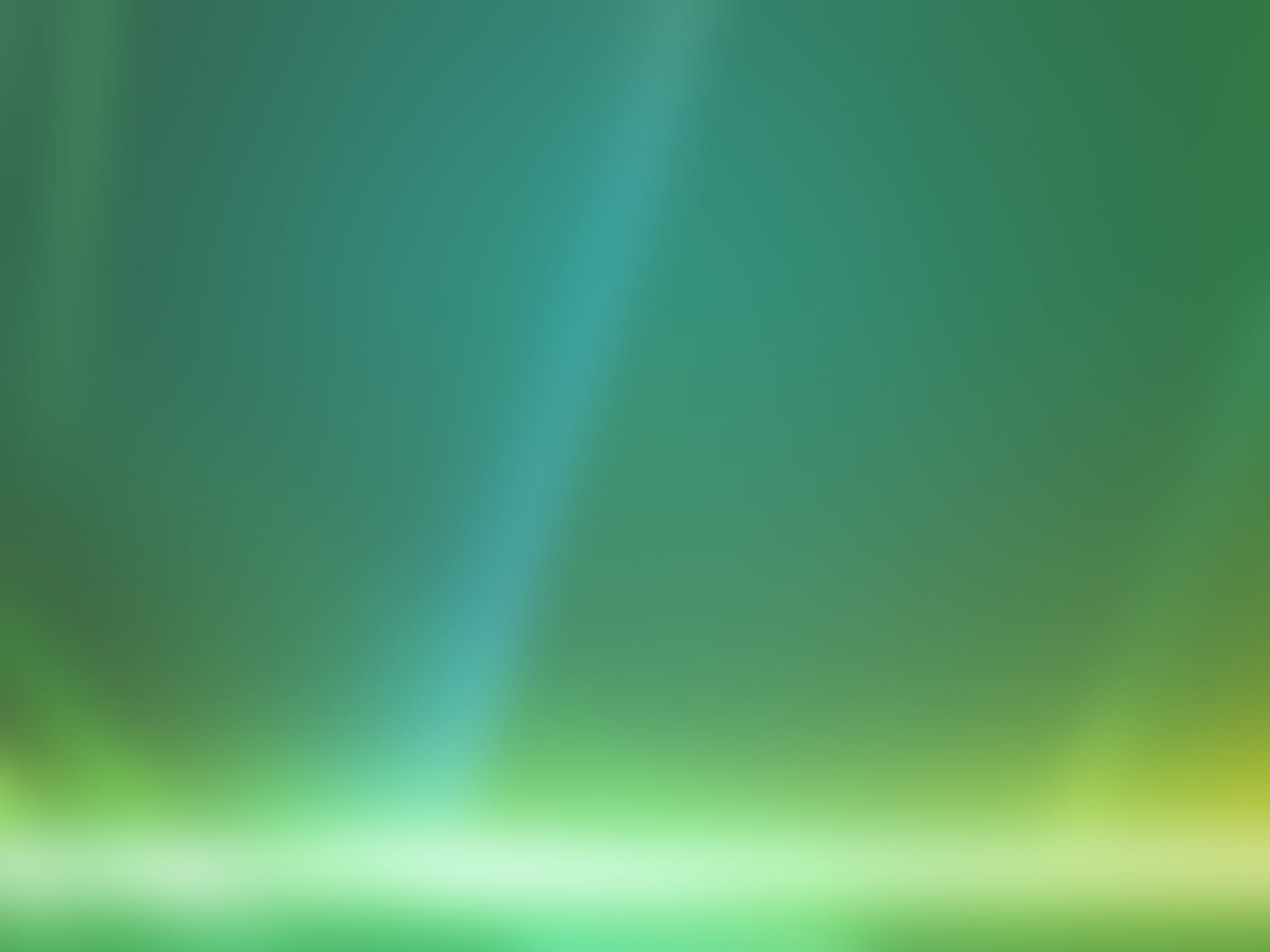 Green Windows 7 wallpaper