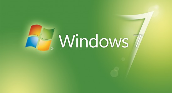 Greenish-Windows-7-Logo-Wallpaper