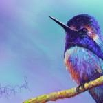 Hand Painted Bird