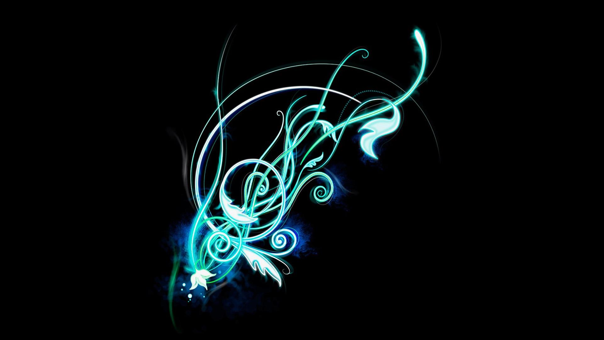 Intricate Glowing Pattern