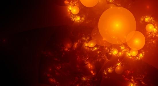 Lava-Bubbles