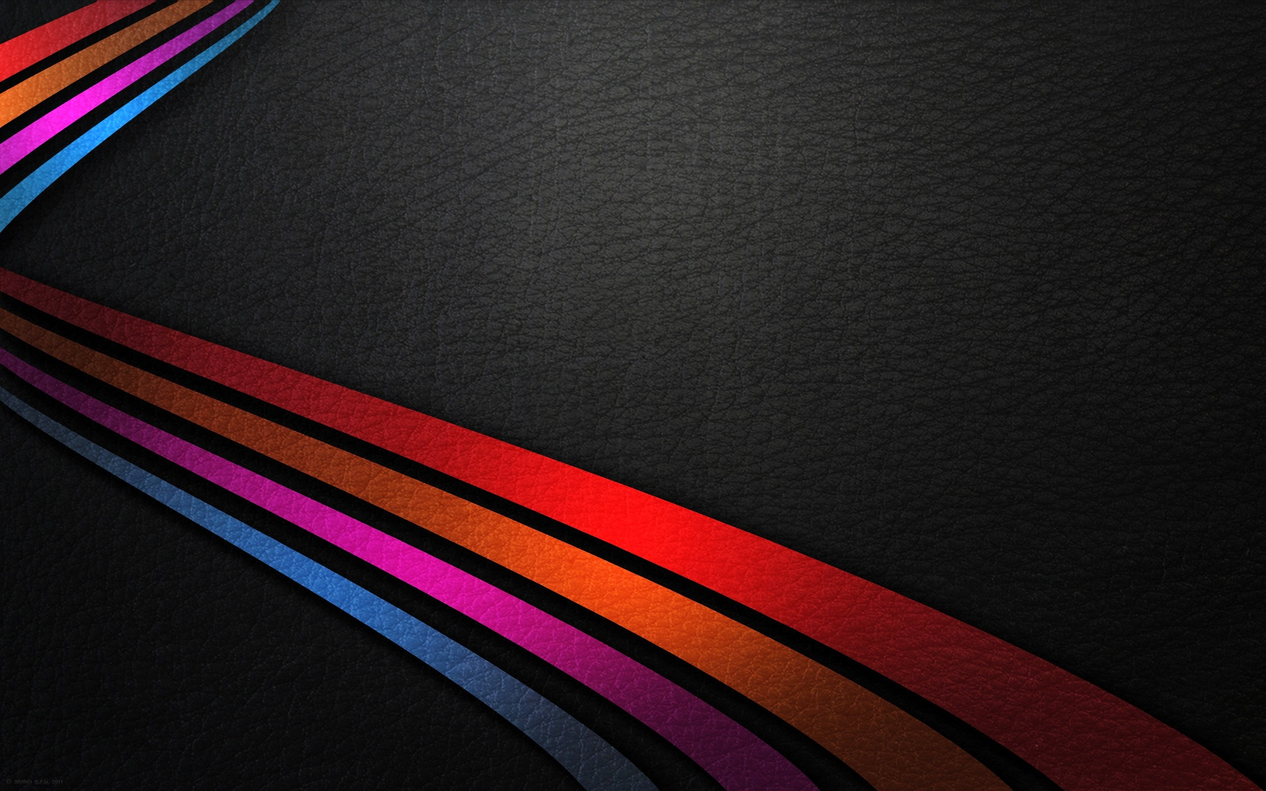 Lines of Colour HD Wallpaper