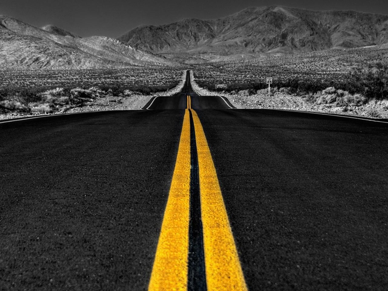 Long road wallpaper - HD Wallpapers