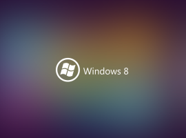 Multicolor Windows 8 Wallpaper