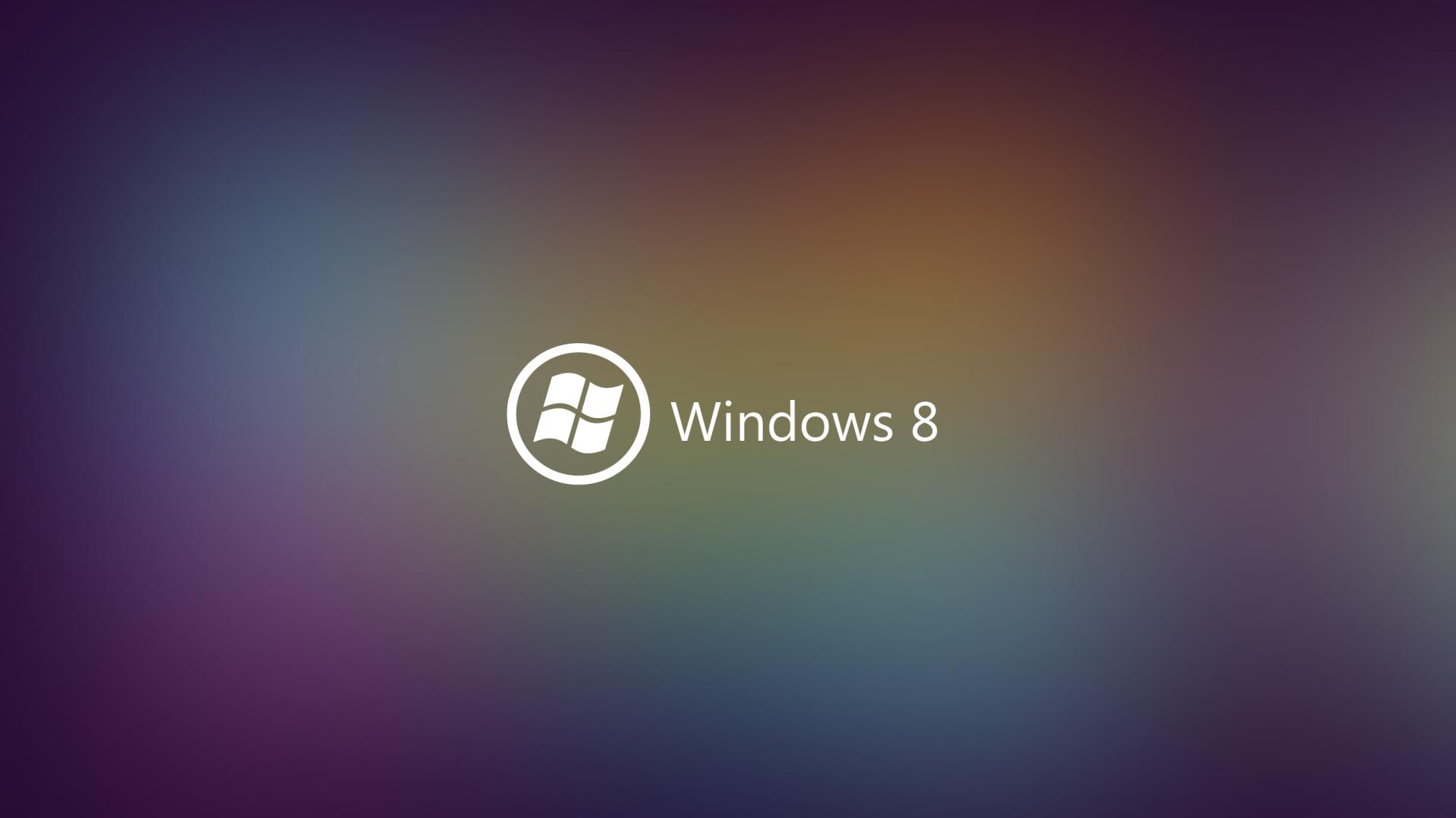 Multicolor Windows 8 Wallpaper