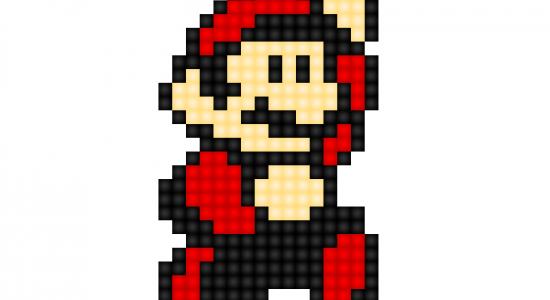 Pixel-Mario