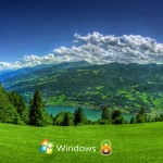 Scenic Windows 8 wallpaper