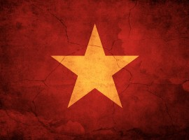 Vietnam flag wallpaper
